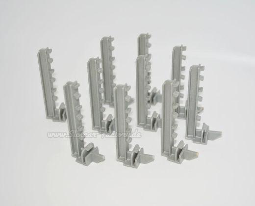 Halter für Leitplanke - Clipmontage Schiene (10 Stück)