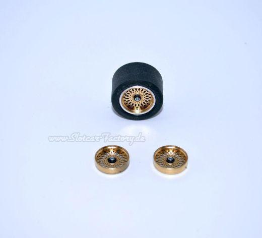 16,5 mm Felgeneinsatz BMW M1 Kreuzspeiche rose Gold