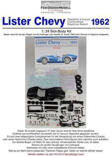 Lister Chevy Karosserie Bausatz  Fein-Design