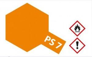 PS-7  Orange f�r Polycarbonat 100 ml