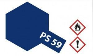 PS-59  Dkl. Metallic Blau f�r Polycarbonat 100 ml