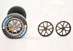 19,1 mm Felgeneinsatz Ford GT Race Car schwarz seidenmatt