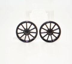 19,1 mm Felgeneinsatz Mercedes C63 AMG schwarz seidenmatt